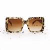 Bardot vierkante zonnebril