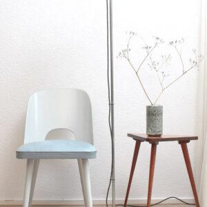 Blauw-grijze-vintage-Oswald-Haerdtl-Thonet-stoel-2