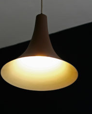 Bruine heksenhoed lamp Dijkstra