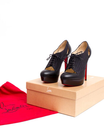 Christian Louboutin gilet pumps of veterlaarsjes