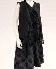 Comme-des-Garcons-deconstructed-blouse-top-gilet-1