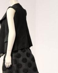 Comme-des-Garcons-deconstructed-blouse-top-gilet-2