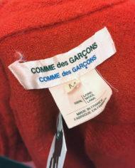Comme-des-Garcons-rode-wollen-blouse-rusches-asymmetrisch-6