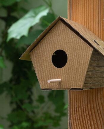 DIY vogelhuisje Kikkerland hut