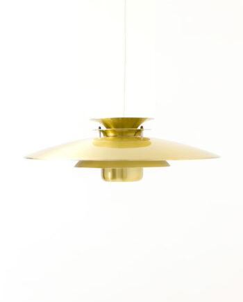 Deense vintage Form Light hanglamp eettafel goud