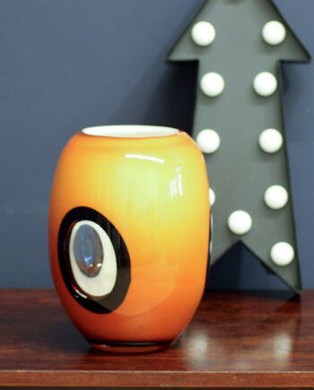 Dreamlight Mediterana oranje glas windlicht seventies