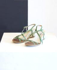 Dries-van-noten-groene-sandalen-wedges-1