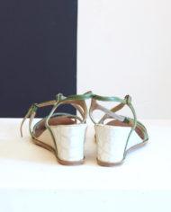 Dries-van-noten-groene-sandalen-wedges-3