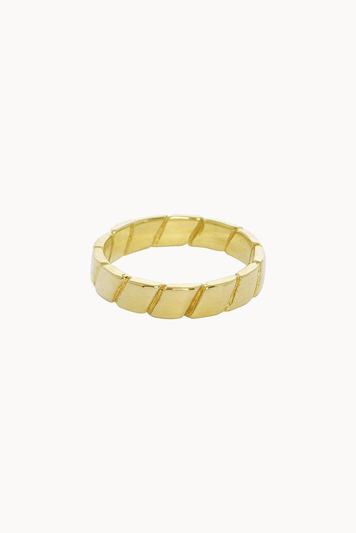 Flawed Adorn ring goud