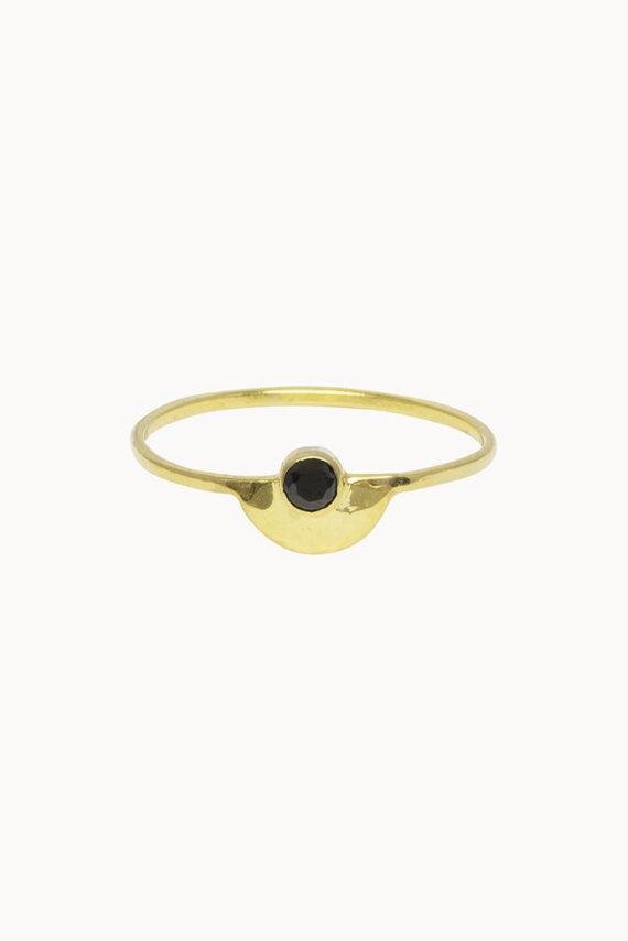 Flawed Half Circle ring