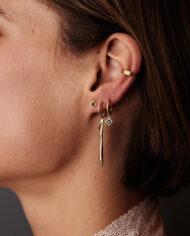 Flawed oorhanger Obsession zilver