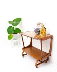 Franse vintage thee-tafel jaren 60
