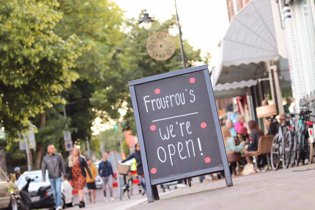 Froufrous vintage winkel we zijn weer open