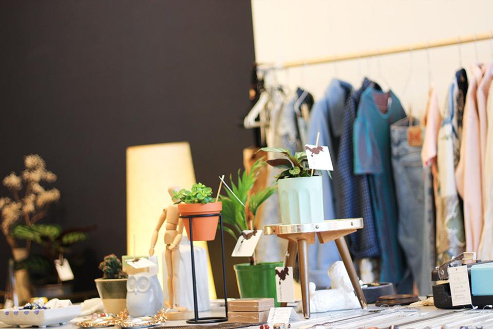 Froufrous vintage winkel wonen mode