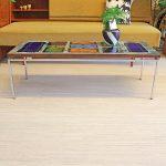Gilliot Hemiksem tegeltafel Belgische vintage salontafel