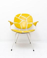 Gispen 302 Easy Chairs voor Kembo stoelen