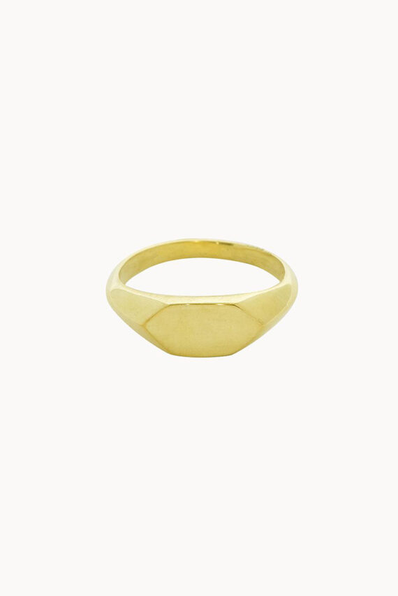 Gouden ring Flawed Timeless