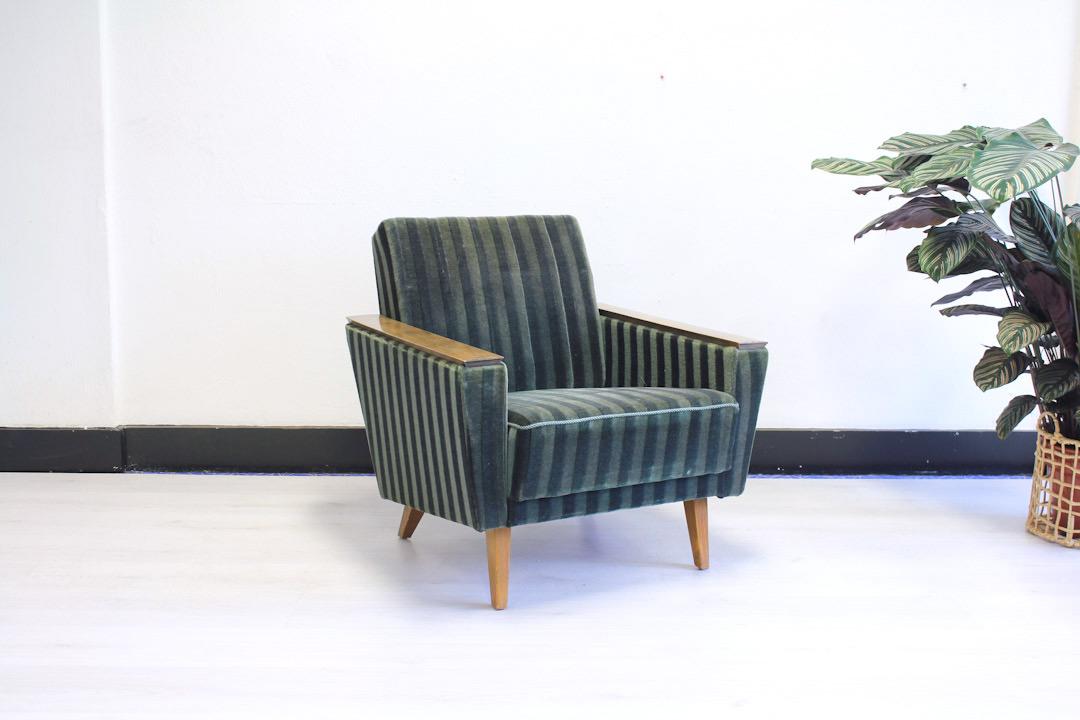 Betere Groene Deense fauteuil vintage - Froufrou's PG-57