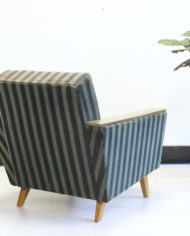 Groene-Deense-velvet-fauteuil-vintage-sixties-rookstoel-7