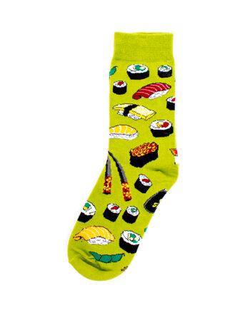Groene sushi sokken