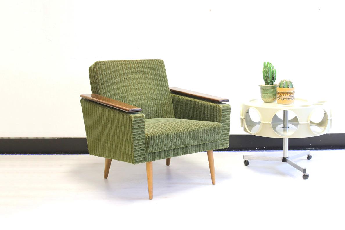 Verwonderend Groene vintage fauteuil Deens Jaren 60 - Froufrou's FD-56
