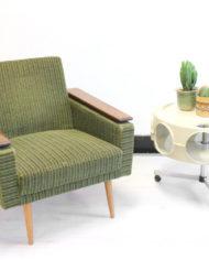 Groene-vintage-rib-fluwelen-fauteuil-Deens-Jaren-60-3