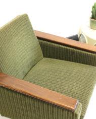 Groene-vintage-rib-fluwelen-fauteuil-Deens-Jaren-60-4