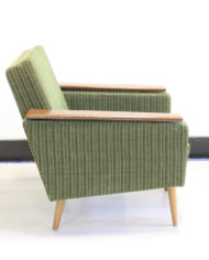 Groene-vintage-rib-fluwelen-fauteuil-Deens-Jaren-60-5