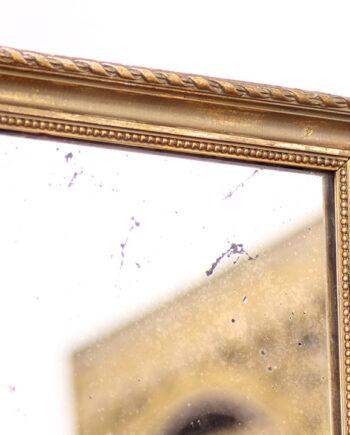 Grote vintage spiegel 120 x 90 goud