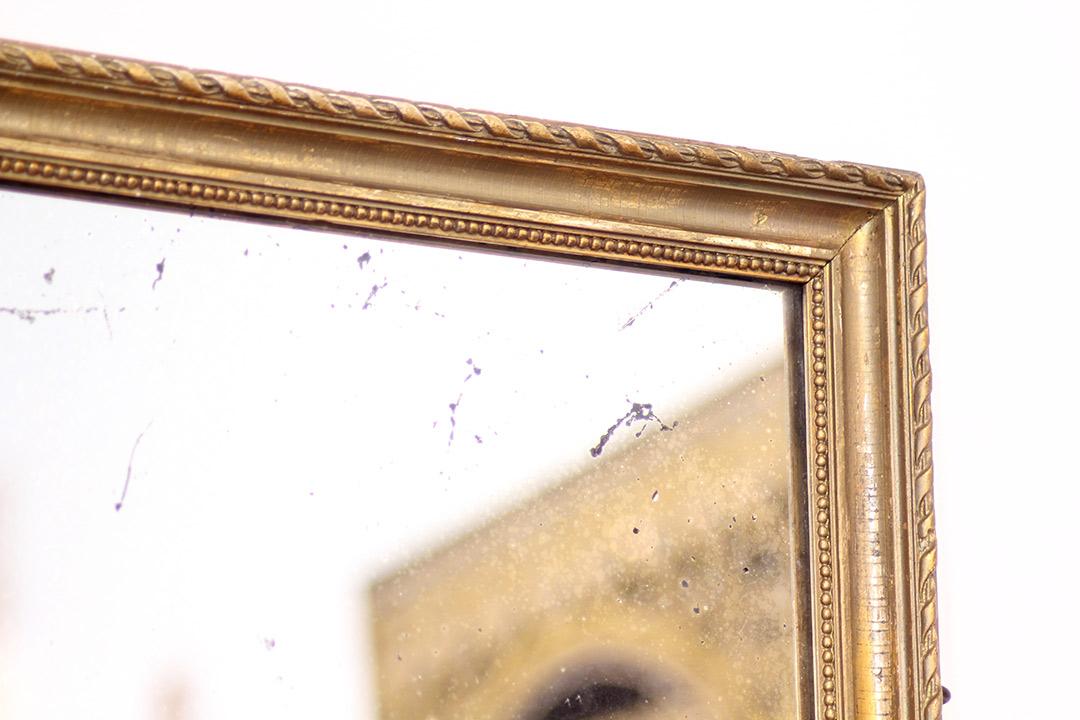grote vintage spiegel 120 x 90 goud froufrou 39 s. Black Bedroom Furniture Sets. Home Design Ideas