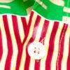 Handgemaakte herenblouse en short van vintage Vlisco katoen
