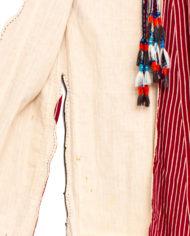Handgemaakte traditionele Turkse Ottomaanse rode kaftan