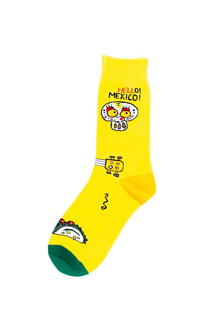 Hello Mexico sokken