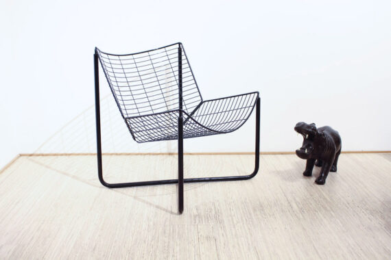 Ikea Jarpen draadstoel fauteuil vintage Niels Gammelgaard