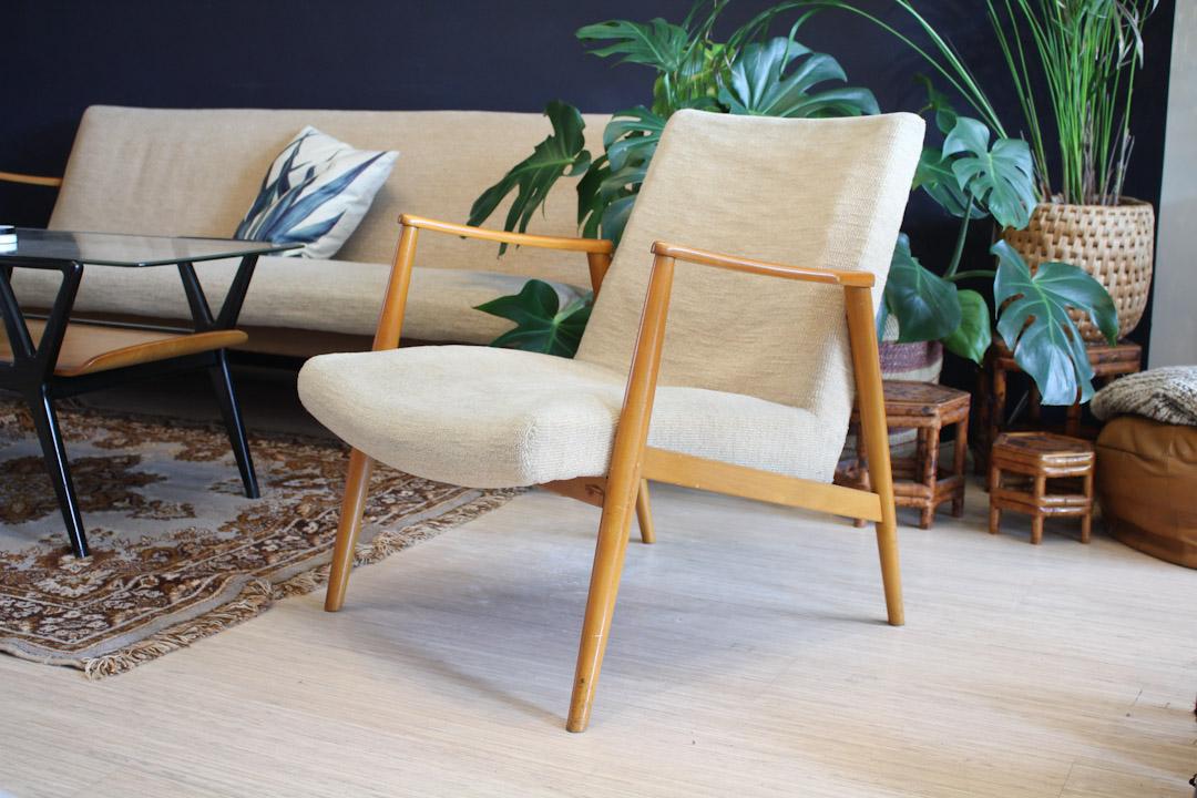 Fonkelnieuw Jaren 60 / 70 vintage fauteuil creme - Froufrou's HQ-98