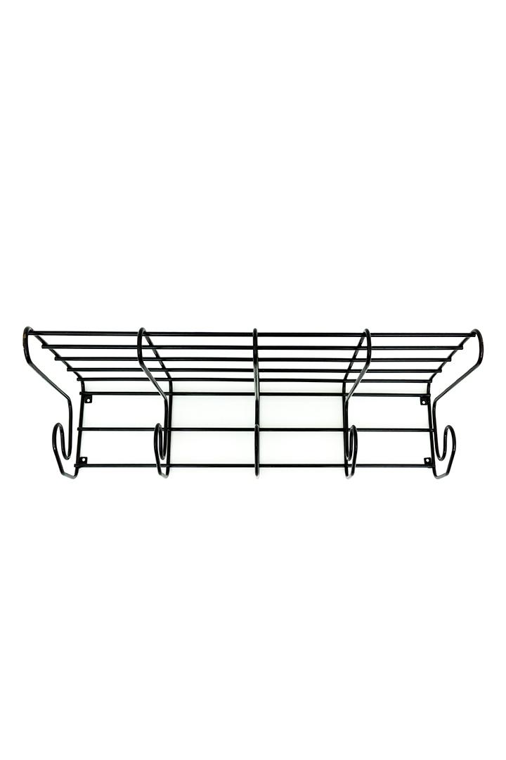 Ikea Frän kapstok vintage zwart draadstaal in Tomado Pilastro stijl