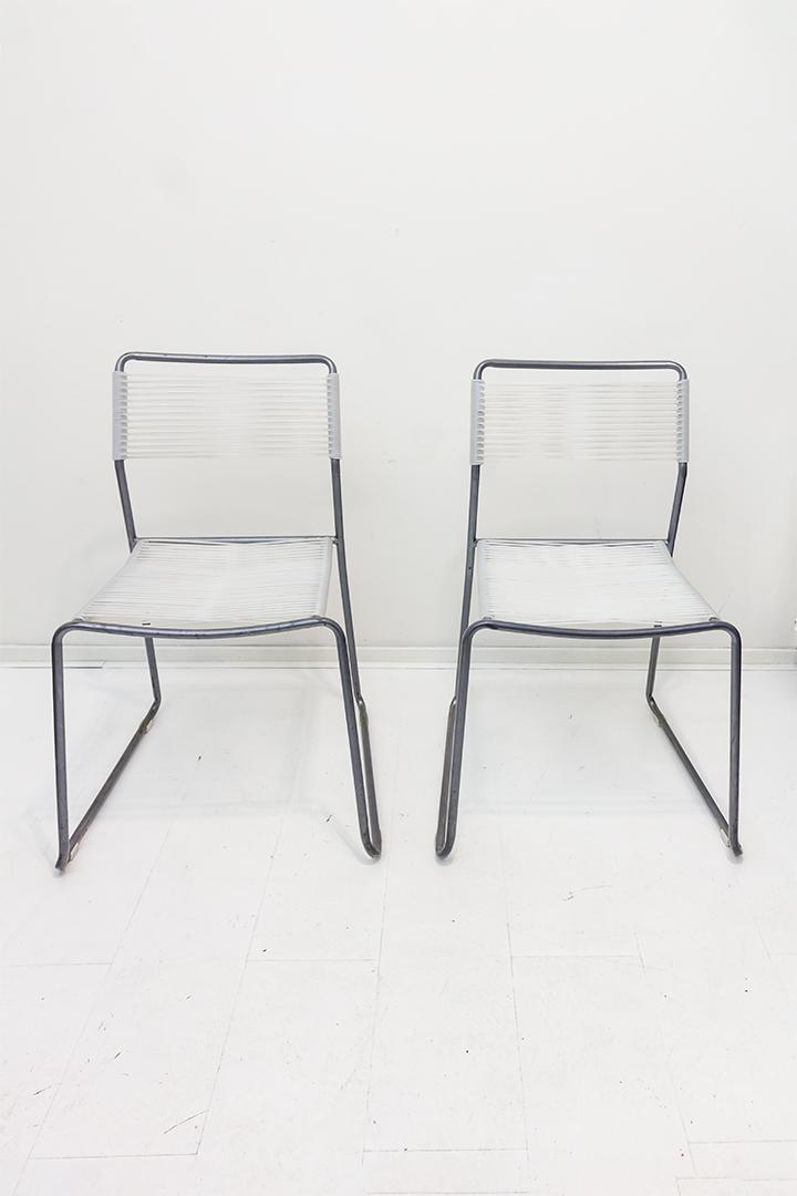 Ikea Melker stoel spaghetti Lisa Norinder jaren 90