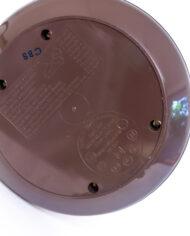 Jaren 60 bruine bureaulamp telescoop Koch Creations Eichhoff