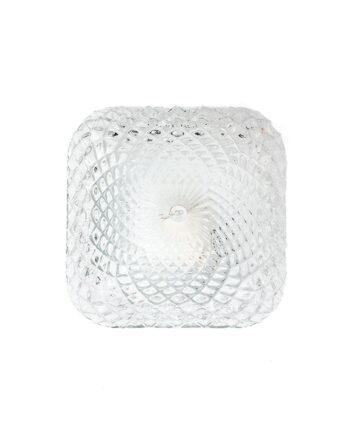 Jaren 70 plafonnière of wandlamp