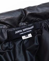 Junya Watanabe x Comme des Garçons zwarte puffer jas
