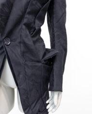 Junya Watanabe zwarte shaped blazer Comme des Garçons 2006