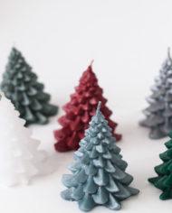 Kaars kerstboom