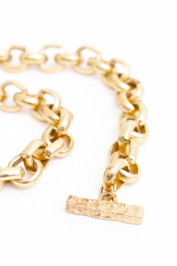 Ketting Pilgrim Deens design met goudkleurige schakels