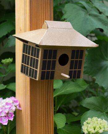 Kikkerland vogelhuisje DIY Japans theehuis