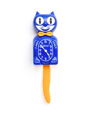 Kit-Cat Gold & Blue klok BC-32G