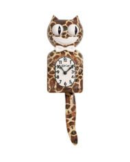 Kit-Cat Klock Giraffe klok