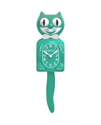Kit-Cat Klock Green Beauty groene klok