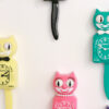 Kit-Cat Klock Green Beauty groene klok