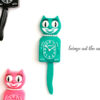 Kit Cat Klock Green Beauty groene klok