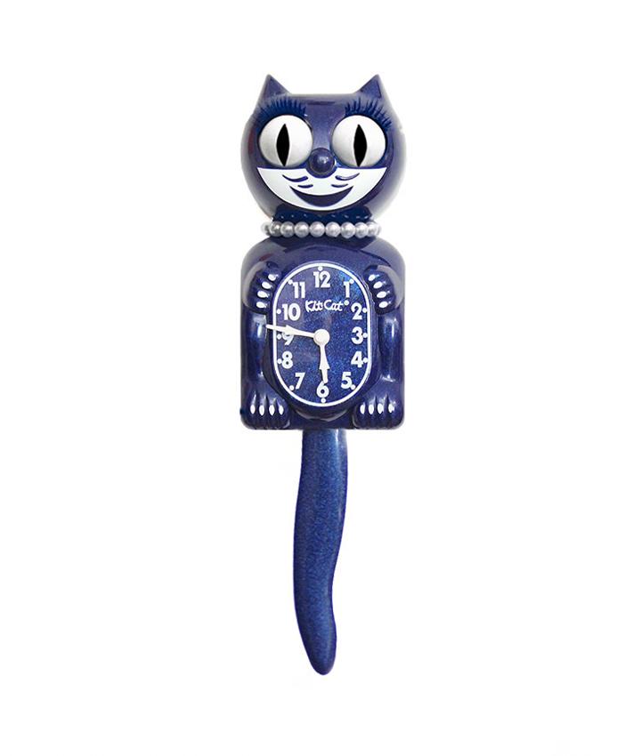 W: Kit-Cat Klock Lady Galaxy Blue LBC-48 Opslaan